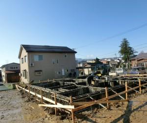 U様邸新築工事 現場進捗情報
