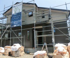 T様邸 現場進捗「外壁、内部造作工事」