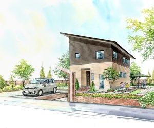 ★建築中!進捗更新!快眠・快食・快育 ほっとする家。